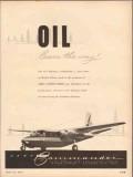 Aero Design Engineering Company 1953 Vintage Ad Oil Commander Airplane