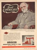 American Mfg Company TX 1953 Vintage Ad Oil Robert E Lee Pumping Unit