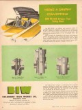 Beaumont Iron Works Company 1953 Vintage Ad Tubing Head Convertible
