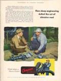 Cameron Iron Works 1953 Vintage Ad Oil Sharp Engineering Abrasive Mud