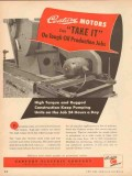 Century Electric Company 1953 Vintage Ad Motors Oil Production Jobs