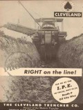 cleveland trencher company 1953 proved right on line oil vintage ad