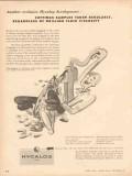Hycalog Inc 1953 Vintage Ad Cutting Samples Taken Regularly Viscosity