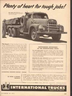 international harvester 1953 plenty tough jobs trucks vintage ad