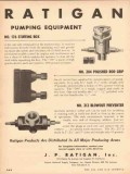 J P Ratigan Inc 1953 Vintage Ad Oil Field Pumping Equipment Rod Grip