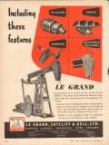 Le Grand Sutcliff Gell Ltd 1953 Vintage Ad Including Equalizer Saddle