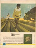 Mannesmann-Export 1953 Vintage Ad Dusseldorf Oil Pipeline Confidence