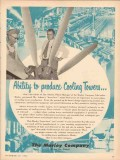 Marley Company 1953 Vintage Ad Oil Cooling Towers Jim Ashton Abilty