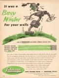 Tuboscope Company 1953 Vintage Ad Oil Corrosion Survey Busy Winter