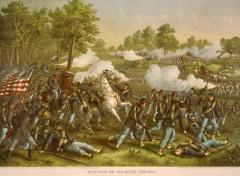 kurz allison 1976 battle of wilson creek civil war lithograph print