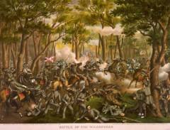 kurz allison 1976 battle of the wilderness civil war lithograph print