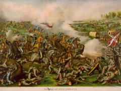 kurz allison 1976 battle of five forks civil war huge lithograph print