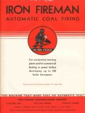 Iron Fireman Mfg Company 1938 Vintage Catalog Automatic Coal Firing