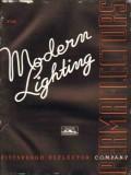 Pittsburgh Reflector Company 1938 Vintage Catalog Lighting Modern