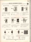 Bryant Electric Company 1938 Vintage Catalog Superior Wiring Devices