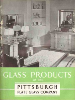 Pittsburgh Plate Glass Company 1938 Vintage Catalog Products