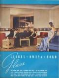 Libbey-Owens-Ford Glass Company 1938 Vintage Catalog Flat Sheet Plate