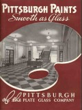 Pittsburgh Plate Glass Company 1938 Vintage Catalog Paint Products
