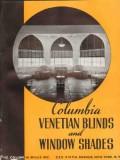 Columbia Mills Inc 1938 Vintage Catalog Window Shades Venetian Blinds