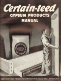 Certain-Teed Products Corp 1938 Vintage Catalog Gypsum Products Manual