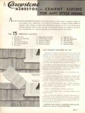 Philip Carey Company 1938 Vintage Catalog Roofing Asbestos Shingles