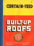 certain-teed products corp 1938 built-up roofs asphalt vintage catalog