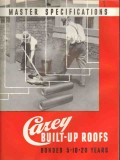 Philip Carey Company 1938 Vintage Catalog Roof Built-Up Specifications