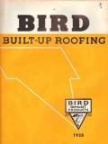 Bird Son Inc 1938 Vintage Catalog Roofing Neponset Built-Up Flashings
