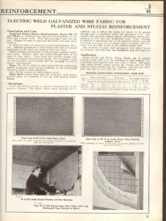 American Steel Wire Company 1938 Vintage Catalog Concrete Reinforce