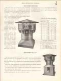 Penn Ventilating Company 1938 Vintage Catalog Rotary Ridge Power