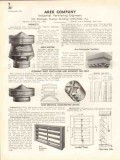 Arex Company 1938 Vintage Catalog Ventilating Engineers Industrial