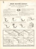 Berger Brothers Company 1938 Vintage Catalog Gutter Hanger Pipe Fasten