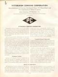 Pittsburgh Corning Corp 1938 Vintage Catalog Glass Blocks Decora Argus
