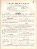 Hydraulic-Press Brick Company 1938 Vintage Catalog Hy-Tex Enamel Glaze