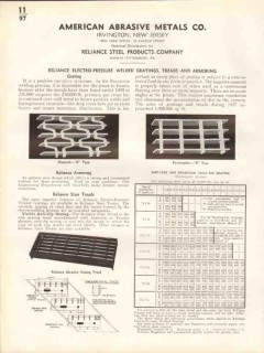 American Abrasive Metals Company 1938 Vintage Catalog Reliance Steel