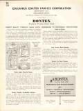 Columbus Coated Fabrics Corp 1938 Vintage Catalog Window Shades Bontex