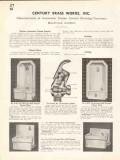 Century Brass Works Inc 1938 Vintage Catalog Water Drinking Fountains