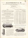 Patterson-Kelley Company 1938 Vintage Catalog Heaters Hot Water