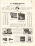 Brownell Company 1938 Vintage Catalog Boilers Stokers Welded Steel
