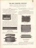 Best Register Company 1938 Vintage Catalog Ventilators Grilles