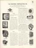 ILG Electric Ventilating Company 1938 Vintage Catalog Air Conditioning