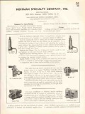 Hoffman Specialty Company 1938 Vintage Catalog Steam Heating Equipment