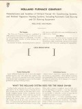 Holland Furnace Company 1938 Vintage Catalog Heating System Vaporaire