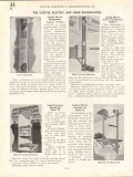 Capital Elevator Mfg Company 1938 Vintage Catalog Freight Passenger