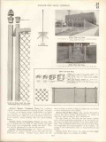 Anchor Post Fence Company 1938 Vintage Catalog Iron Wire Rustic Wood