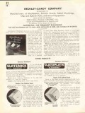Beckley-Cardy Company 1938 Vintage Catalog Slatebestos Blackboard