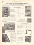 All-Steel-Equip Company 1938 Vintage Catalog Lockers Wardrobes