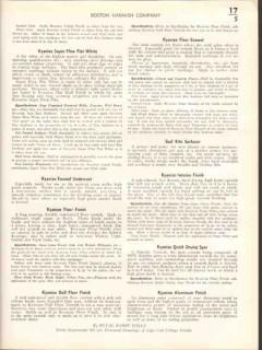 Boston Varnish Company 1938 Vintage Catalog Paints Kyanize Enamels