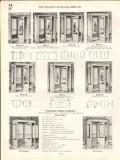 Atchison Revolving Door Company 1938 Vintage Catalog Wings Enclosures