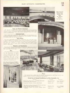 Allen Automatic Inc 1938 Vintage Catalog Doors Windows Gates Awnings